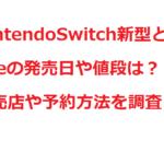 NintendoSwitch新型とLiteの発売日や値段は?販売店や予約方法を調査!